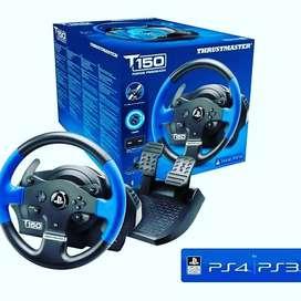 Timon de carreras PS4 PS3 Pro SIM Racing Thrustmaster T150 RS