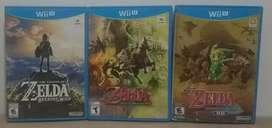 Juegos Zelda Nintendo WiiU