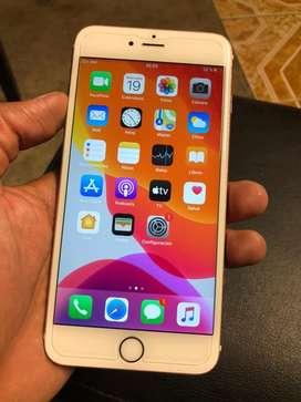 Iphone 6s plus gold rose de 64Gb libre para claro