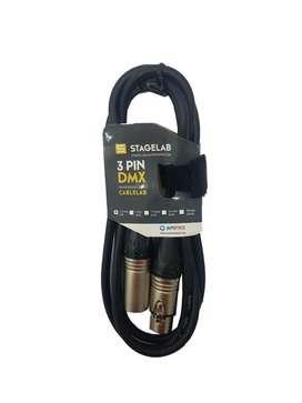 Cable Dmx Canon Macho Canon Hembra Xlr Xlr 1,5 Mts Oferta !!!