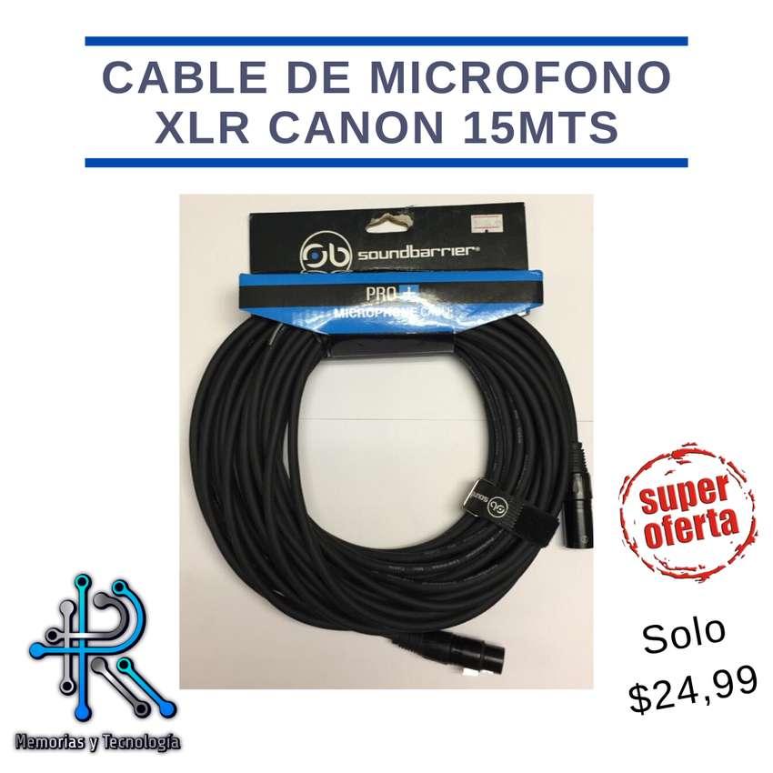 Cable de microfono CANON 0