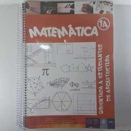 Matematica U.N.C 1A orientada a arquitectura