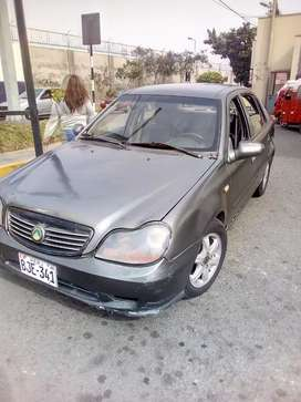 Vehiculo geely 1500