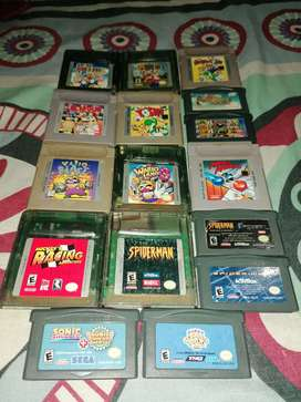 Juegos nintendo game boy advance / micro / nintendo ds lite / super mario / gba / gbc / Mario bros /