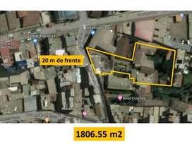 Vendo Ex Casa Hacienda en Huaraz. 1800 m2