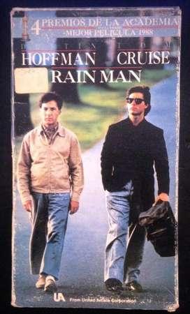 Vhs - Rain Man - Hoffman - Cruise