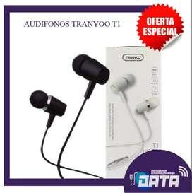AUDIFONOS TRANYOO T1