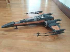 STAR WARS - nave x - wing, luke skywalker