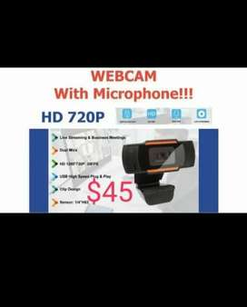 WEB CAM WITH MICROPHONE