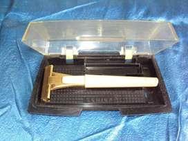 antigua maquina de afeitar schick safety razor