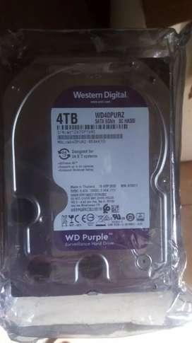 Disco duro 4TB purple
