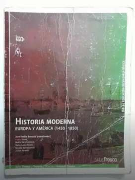 Historia Moderna, Tinta Fresca, Libro de historia