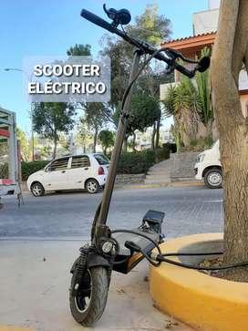 Scooter eléctrico, marca E-Planet modelo apolo, 4 meses de uso