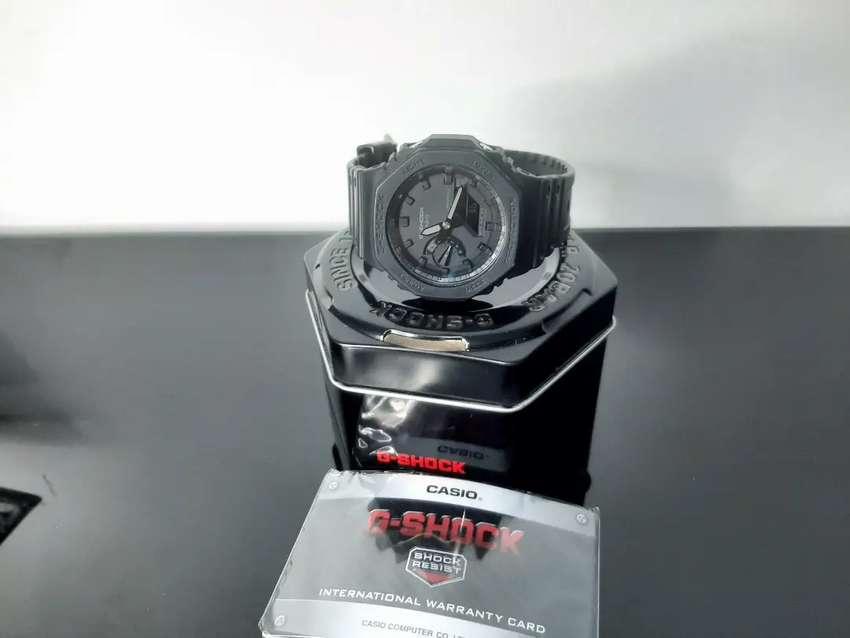 Reloj casio G-SHOCK 2100 Negro mate 0