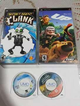 Juegos de PSP Originales sueltos