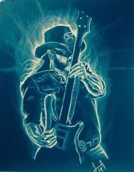 Dibujo de Lemmy de motor head