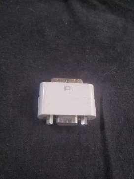 Convertidor VGA a dvi  para mac mini