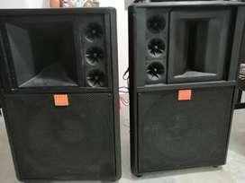 Cabinas de sonido para amplificador potentes 15 pulgadas