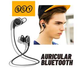 AURICULARES INALAMBRICOS BLUETOOTH QCY QY8 DEPORTIVOS.