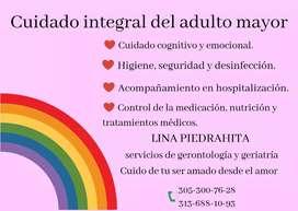 Cuidado especial de adulto mayor