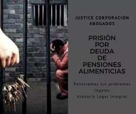Abogados Loja Justice PRISIÓN POR DEUDAS DE PENSIONES ALIMENTICIAS