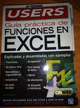 """""""Guía práctica de funciones en Excel"""" Express Users"""