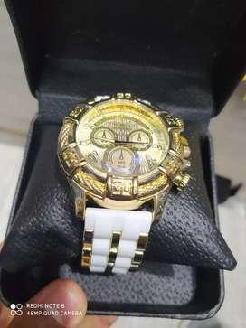 Reloj Invictus ( Blanco)