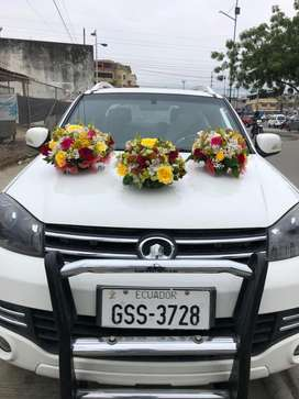 Camioneta doble cabina blanca 2017 a diesel