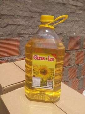 Aceite Girasoles 4.50 ltr envío a domicilio sin cargo