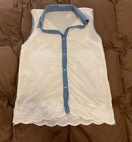Camisa blanca talle M