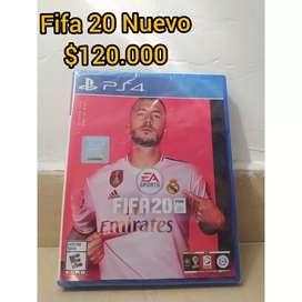 Venta de FIFA 20 nuevo $120.000