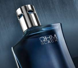 OHM BLACK COLONIA EN SPRAY YANBAL