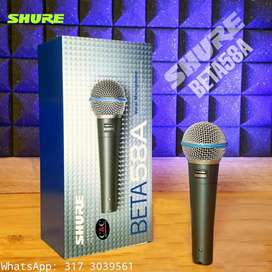 MICRÓFONO VOCAL SUPERCARDIOIDE SHURE BETA 58A