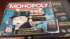 Se vende monopoly electrónico edición limitada con solo una vez de uso