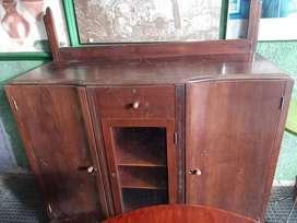 Mueble bife vitrina antiguo vintage clasico