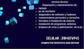 mantenimiento a computadores