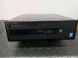 TORRE CPU PRODESK I5 4ta GENERACION HP