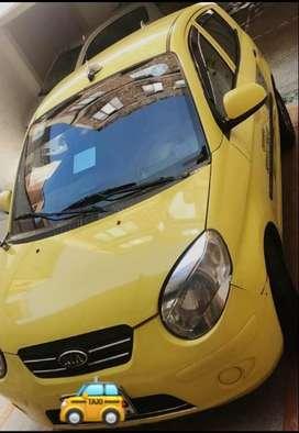 Vendo taxi  kia picanto 2011