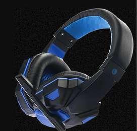 Auriculares para juegos con micrófono (gamer)