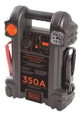 Arrancador Auxiliar Con Compresor Para Auto Black & Decker