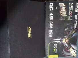 Placa de video Gtx 970 Strix exc!