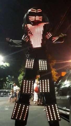 SHOW ROBOT LED METATRON