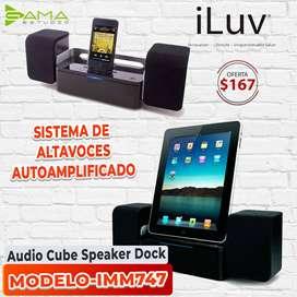 Audio Cube Speaker Dock de iLuv MODELO-IMM747