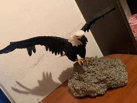 Aguila de cuarzo piedras preciosas