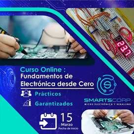 ️ CURSO ONLINE DE ELECTRÓNICA