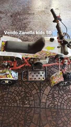 Vendo Zanella 50 kids impecable como nuevo