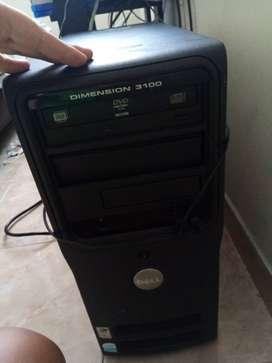 Computadora Dell Dimensión 3100