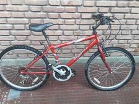 Bicicleta Mountain Bike Unibike Rodado 24