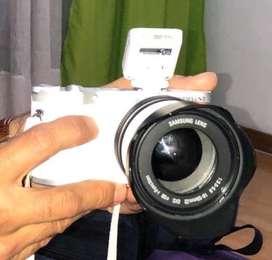Camara samsung NX 300 smart