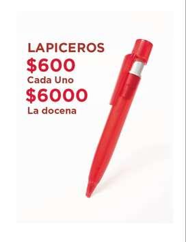 LAPICEROS PUBLICIDAD